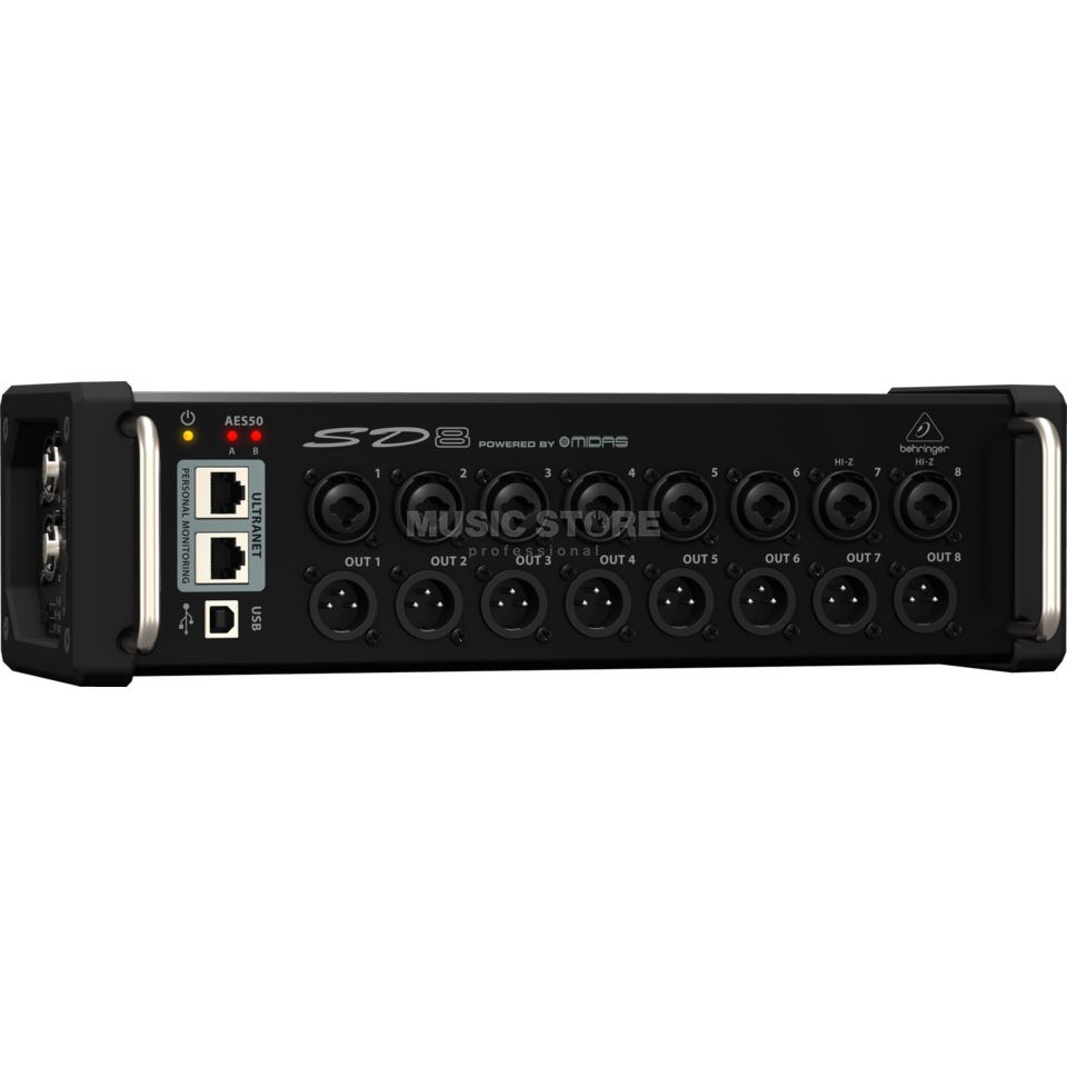 Behringer SD8 Digital Snake 8x8 Stagebox Produktbillede