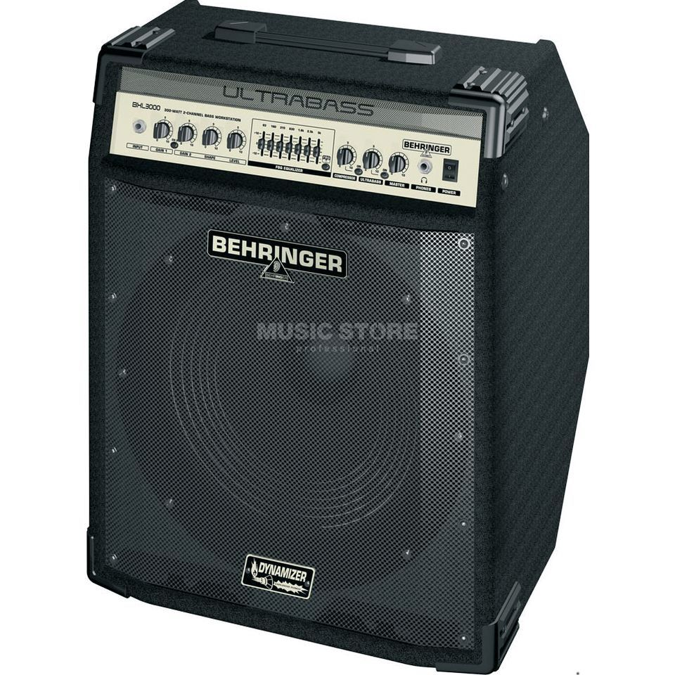 Behringer Ultrabass BXL 3000 Combo  Product Image
