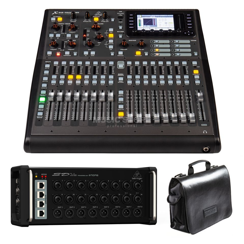 Behringer X32 Producer + SD16 - Set Produktbild