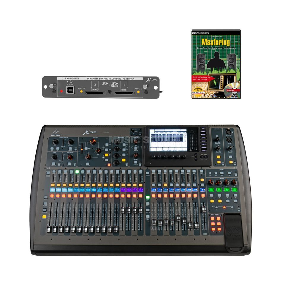 Behringer X32 - X-Live - Set   DV247   en-GB