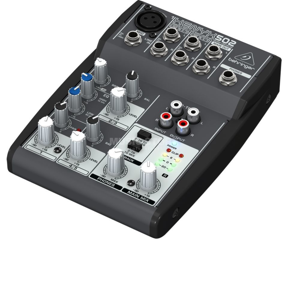 table de mixage behringer xenyx 502