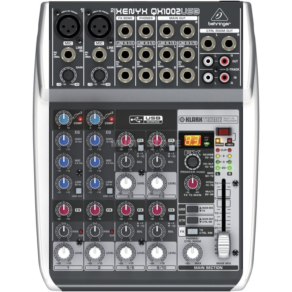 Behringer XENYX QX1002USB | MUSIC STORE professional | de-DE