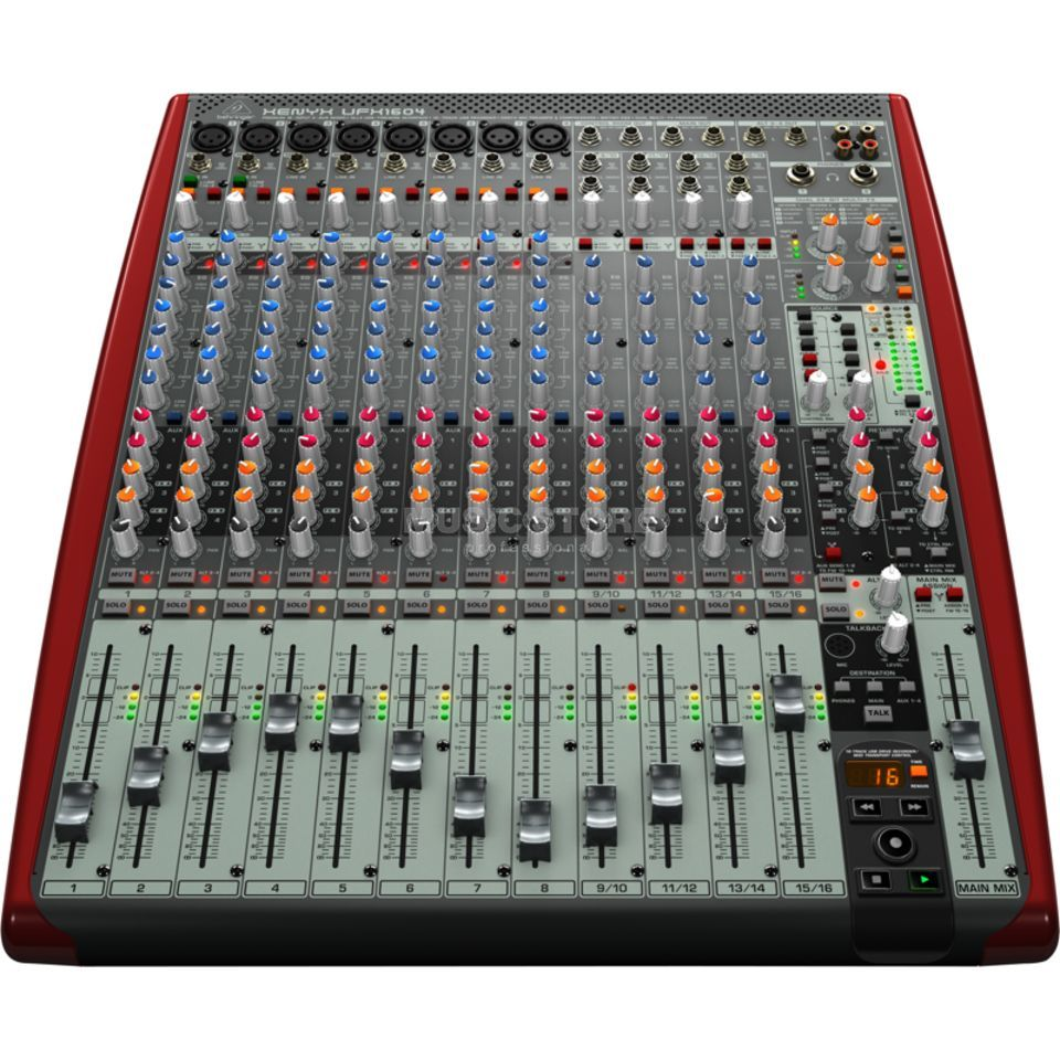 Behringer Xenyx UFX1604 Recording Mixer with USB Produktbillede