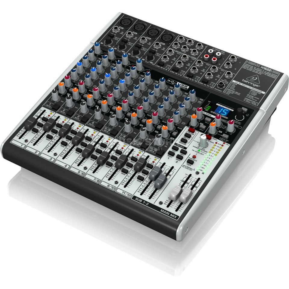 behringer xenyx x1622usb 16 channel mixer with usb audio interface. Black Bedroom Furniture Sets. Home Design Ideas