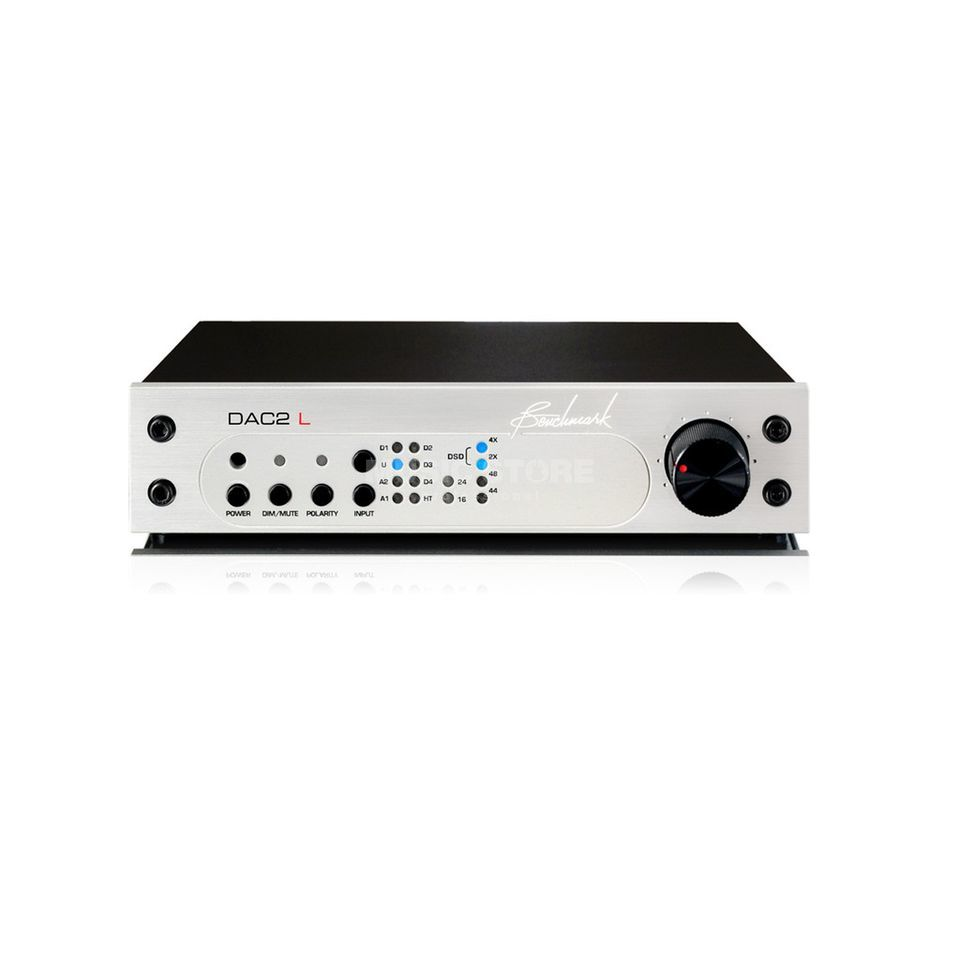 Benchmark Media Systems DAC-2L/S silver  Produktbillede
