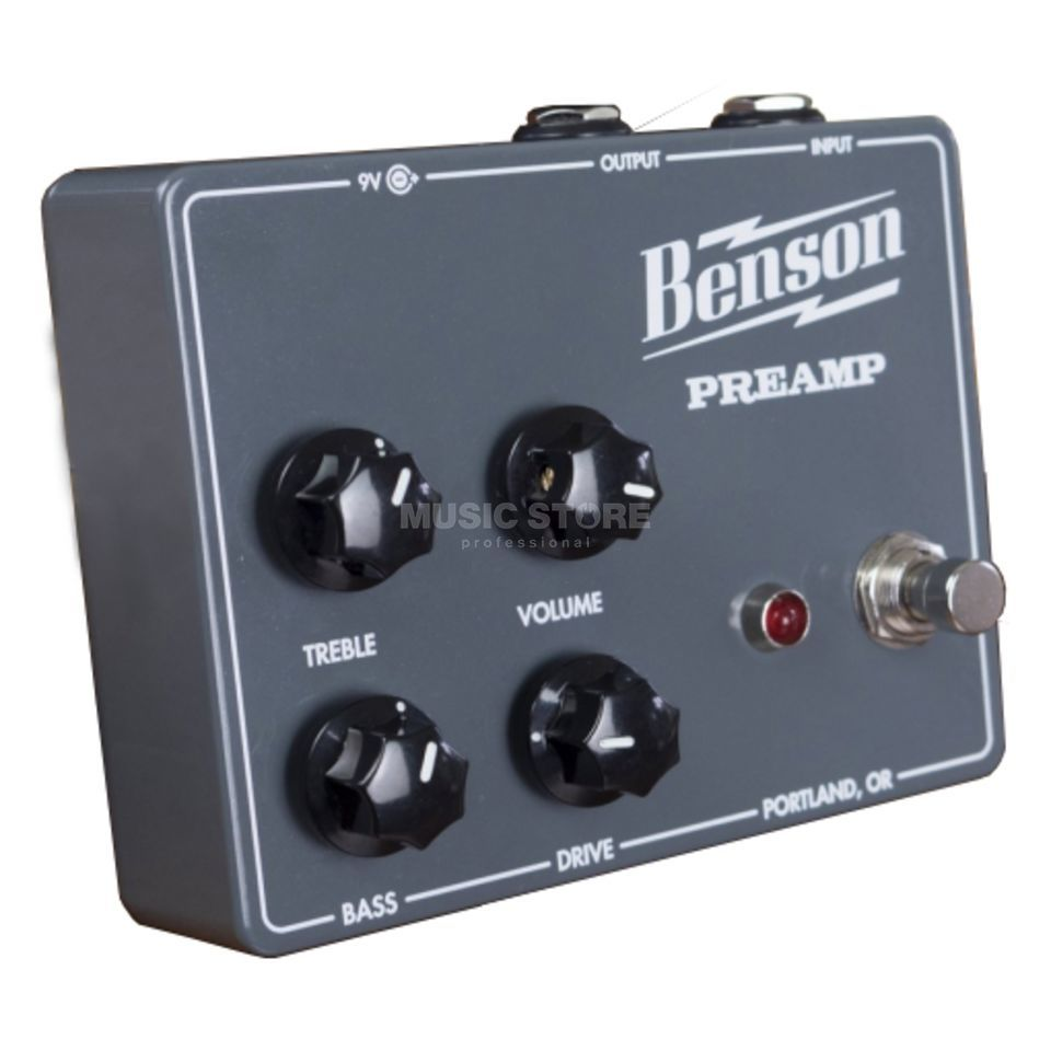 Benson Amps Preamp Pedal Product Image