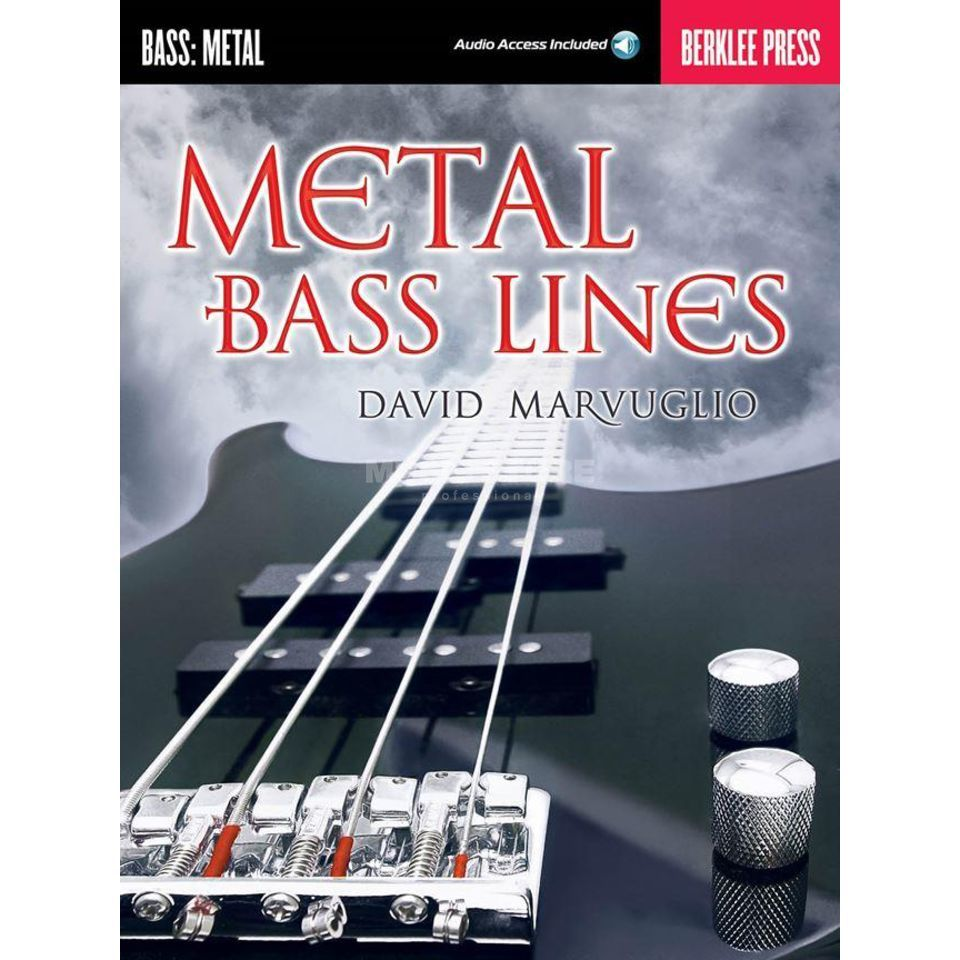 Berklee Press Metal Bass Lines David Marvuglio Produktbillede