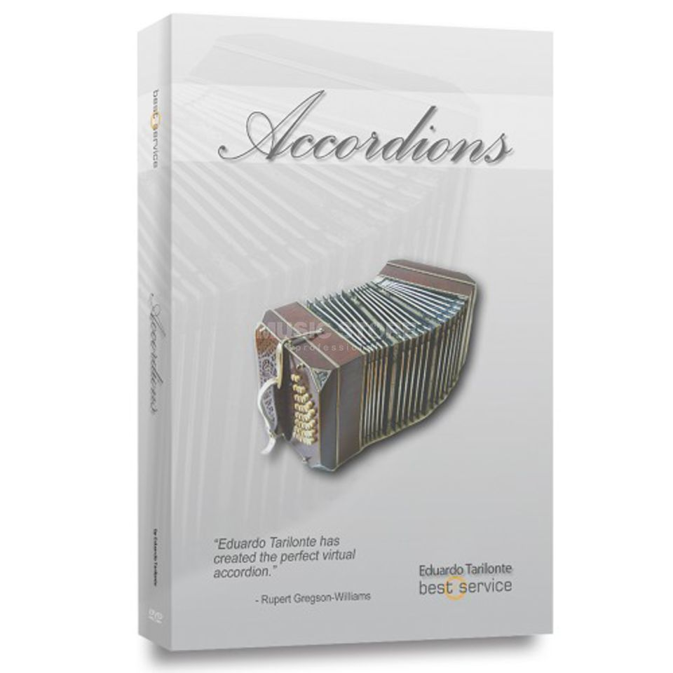Best Service Accordions B-Stock Sample Library / Lizenzcode Produktbild