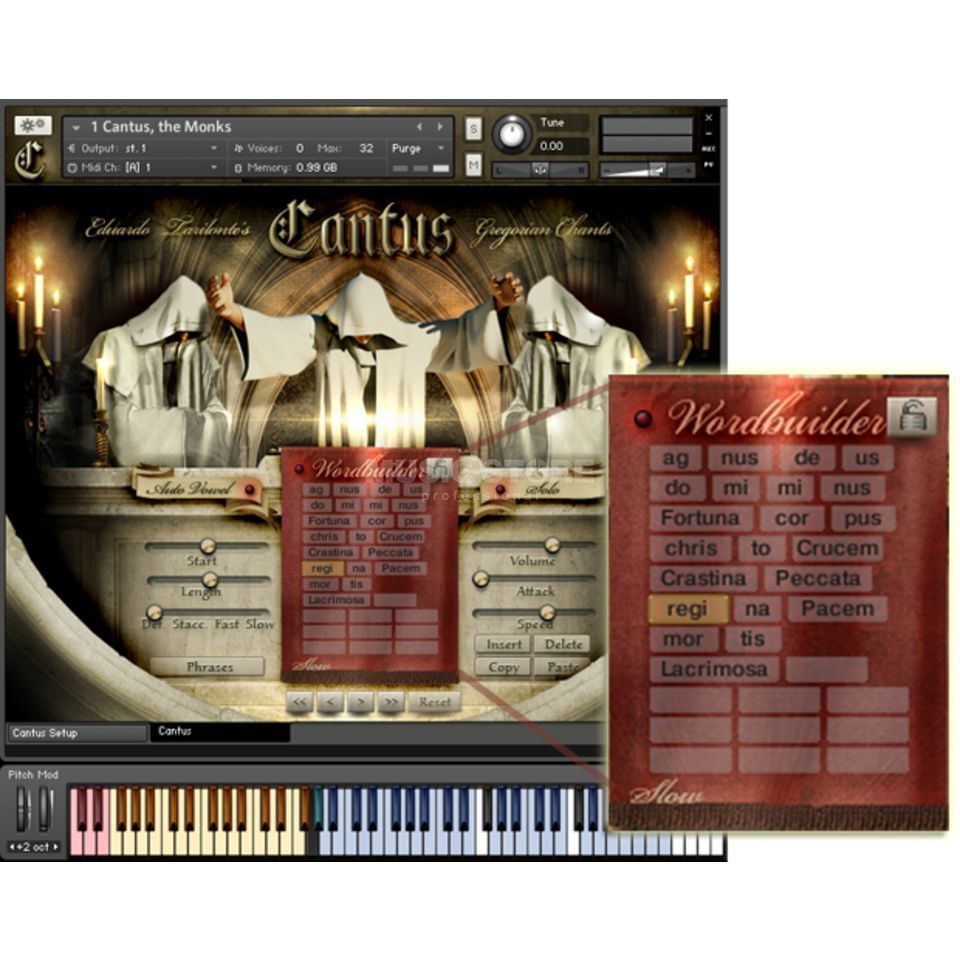 Best Service Cantus - Gregorian Chants Download License Produktbillede