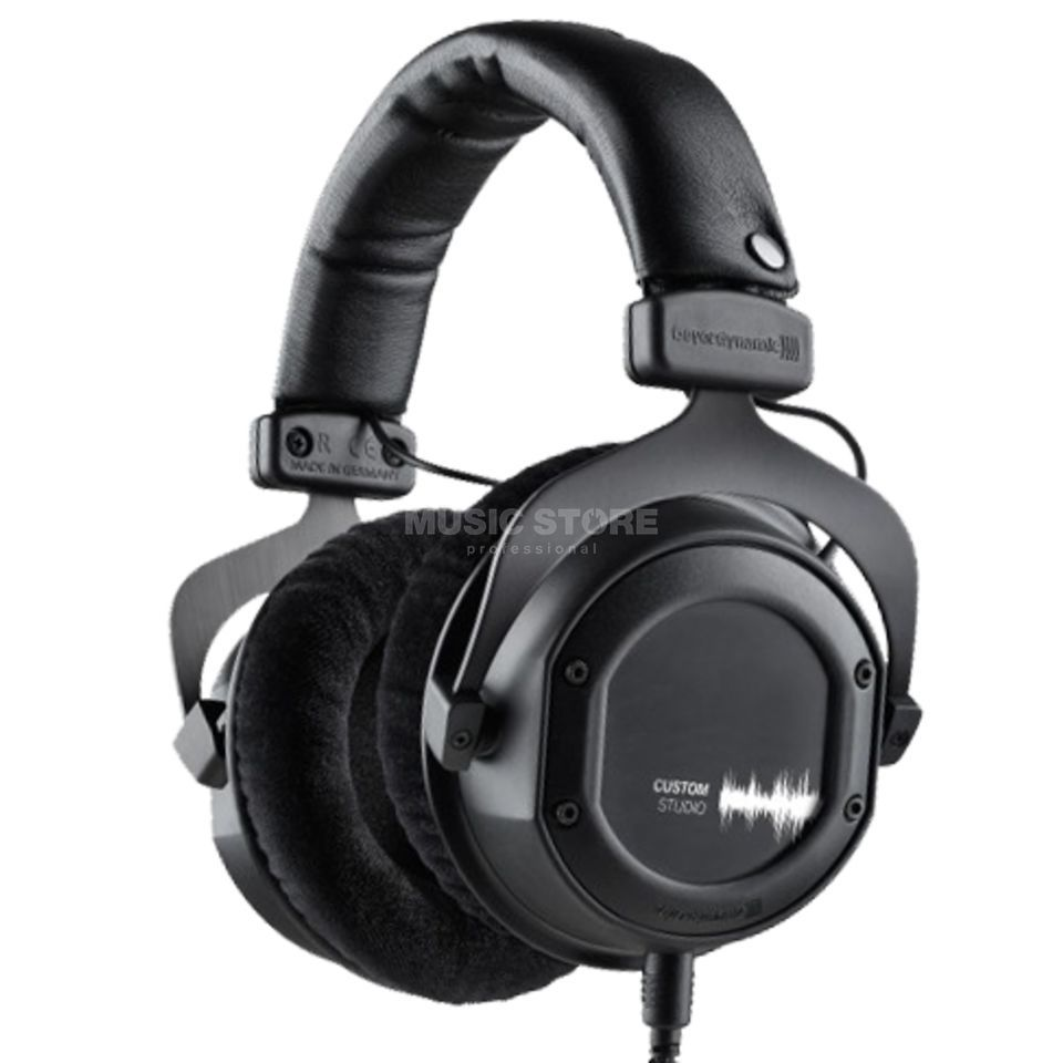 Beyerdynamic Custom Studio 80 Ohm closed, Black Produktbillede