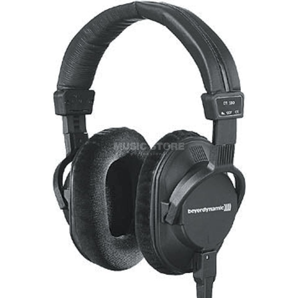 Beyerdynamic DT 250 Studio Headphone closed, 250 ohm, sw Produktbillede