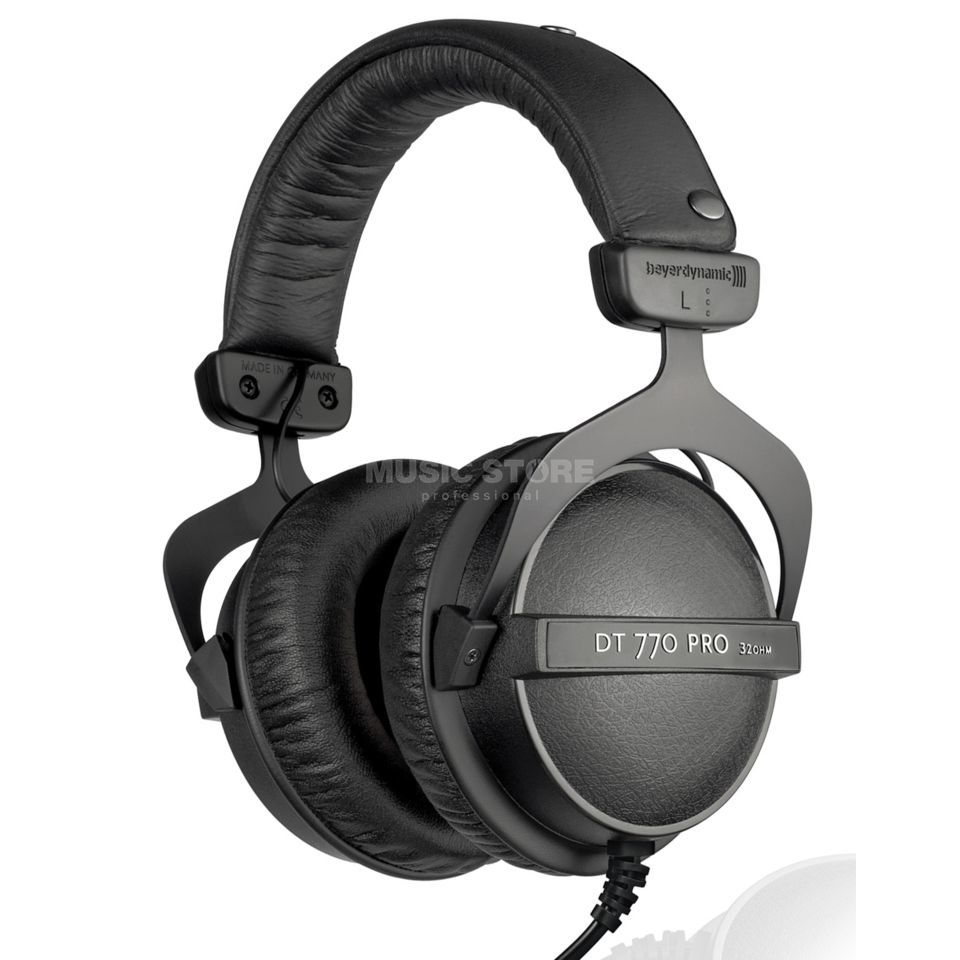 beyerdynamic dt 770 pro 32 ohm closed studio headphones dv247 en gb. Black Bedroom Furniture Sets. Home Design Ideas