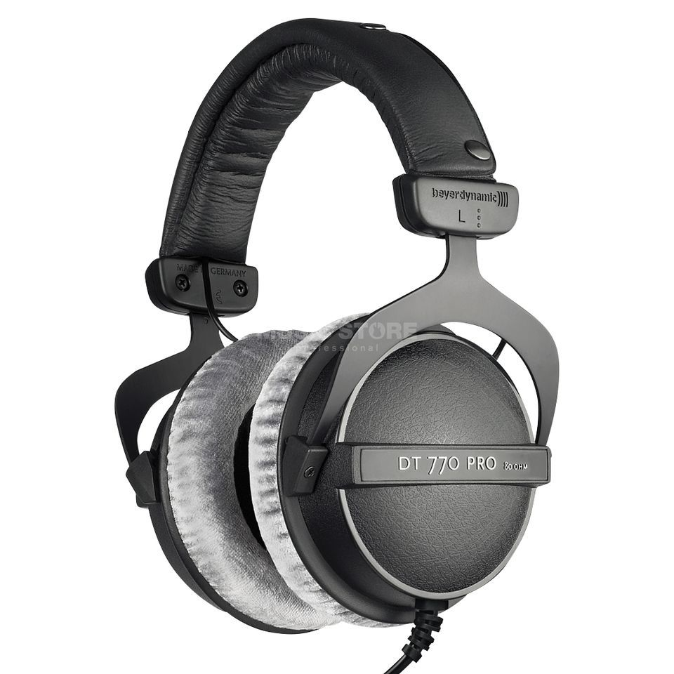 beyerdynamic dt 770 pro 80 ohm closed studio headphones dv247 en gb. Black Bedroom Furniture Sets. Home Design Ideas