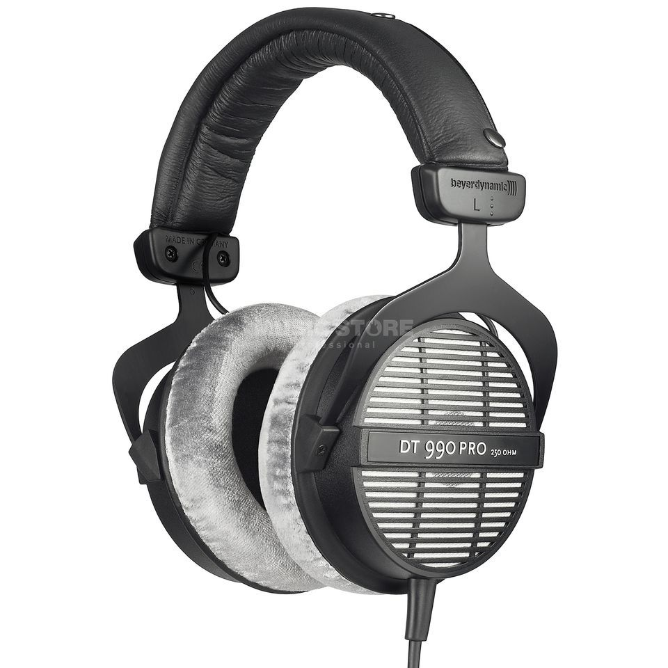 Beyerdynamic DT 990Pro Studio Headphone half-open, 250ohm Produktbillede