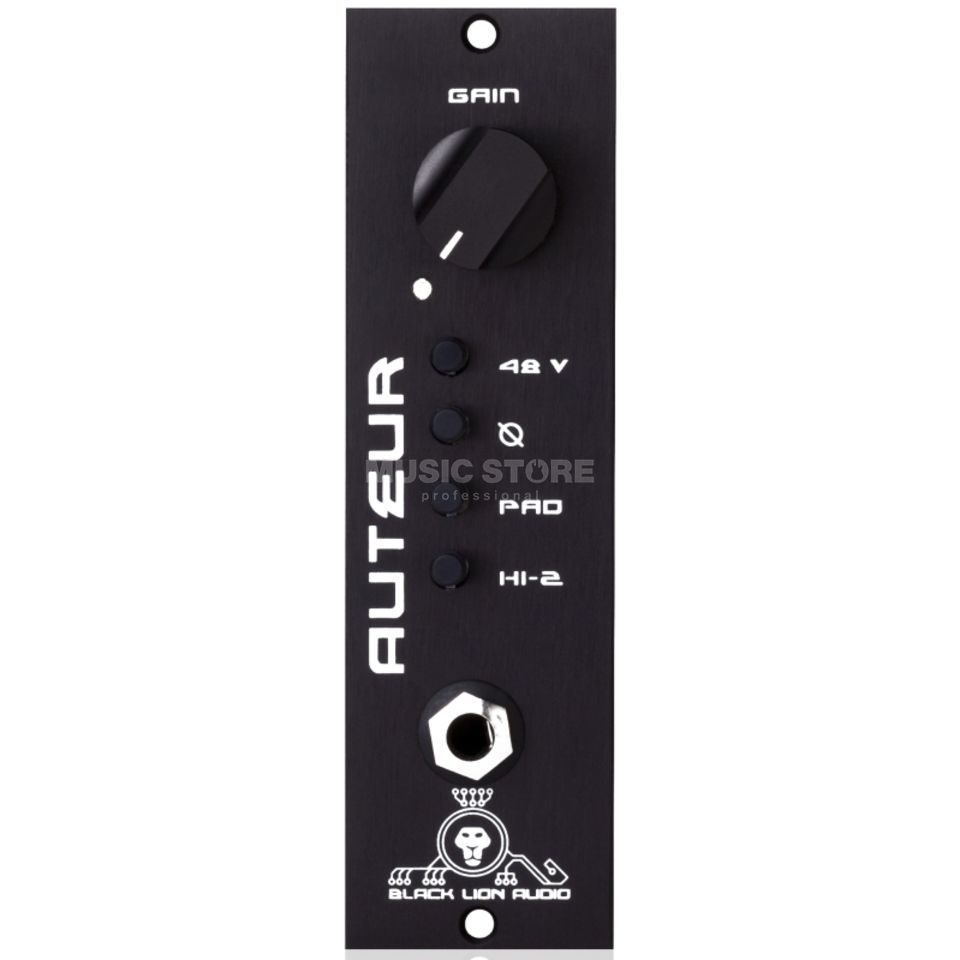 Black Lion Audio Auteur MKII 500 Mic Pre Product Image
