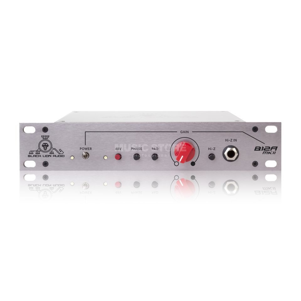 Black Lion Audio B12A Preamp in API 312A Style, 1-Channel Produktbillede