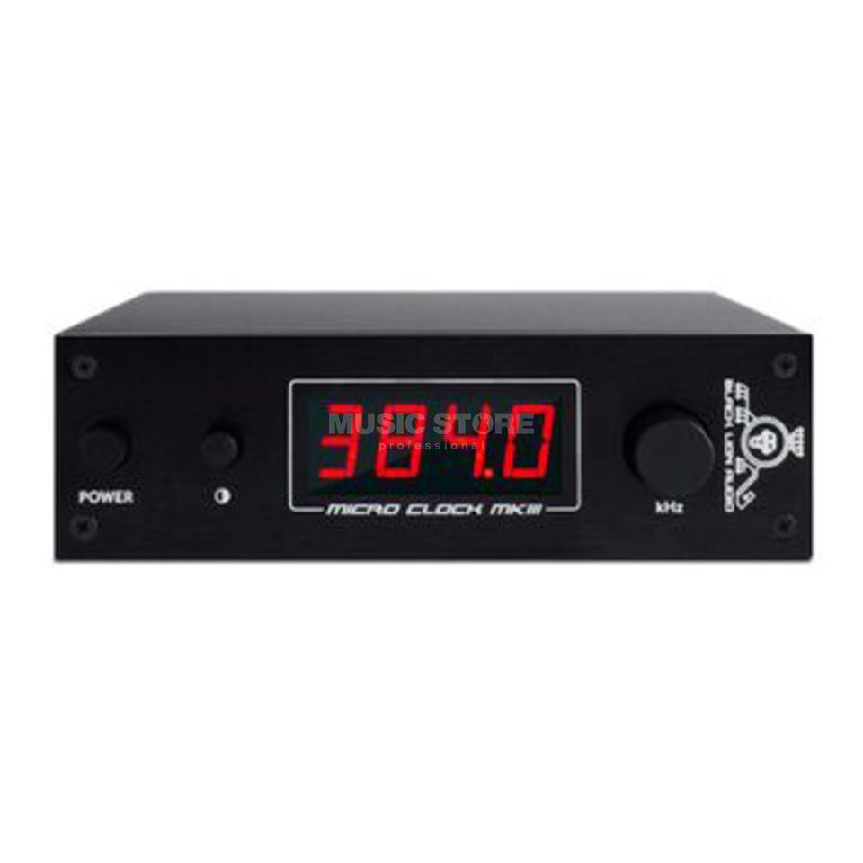 Black Lion Audio Micro Clock MK3 Wordclock Gen. mit 6x WC-Out Produktbild
