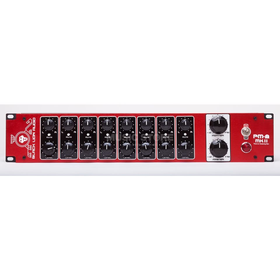 Black Lion Audio PM8 MKII 8x2 Summing Mixer Produktbild