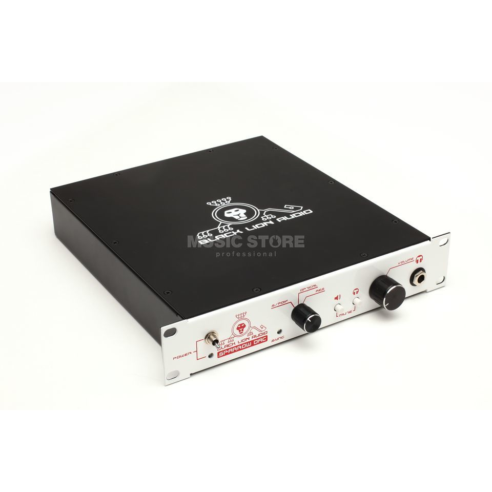 Black Lion Audio White Sparrow DAC 2-Channel D/A Converter Produktbild