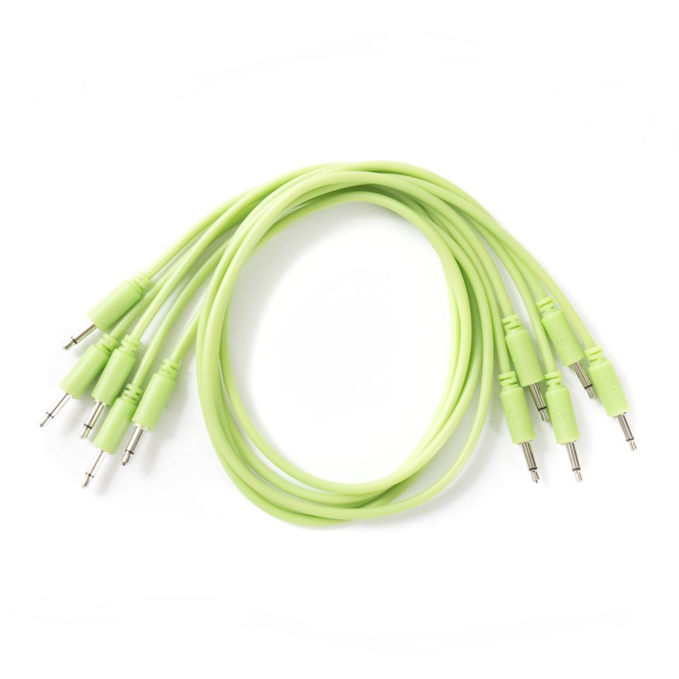 Black Market Modular Patch Cables 1m Glow-in-the-Dark (5-Pack) Productafbeelding