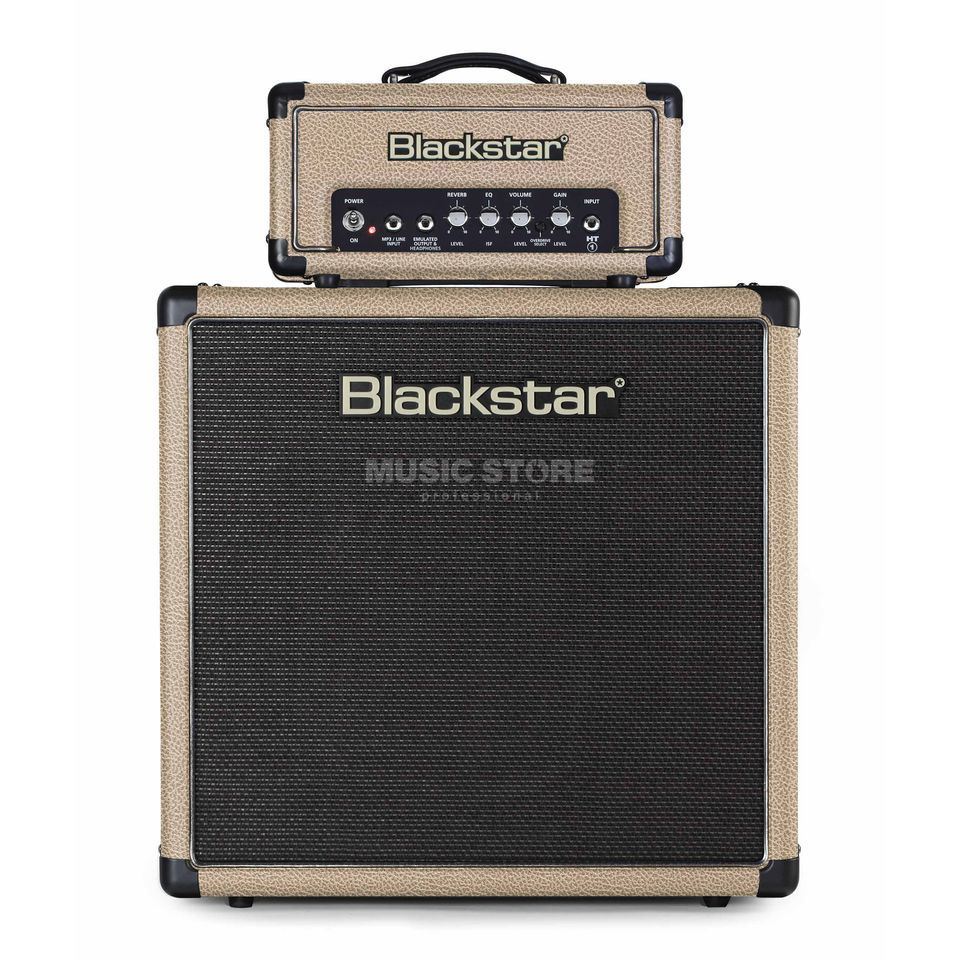 Blackstar HT-1R & HT-112 Tan Bronco Limited Edition Stack Imagem do produto