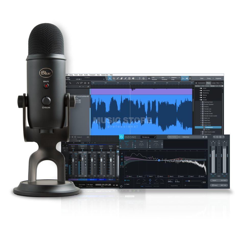 Blue Microphones Yeti Studio Blackout Podcast Bundle | MUSIC STORE  professional