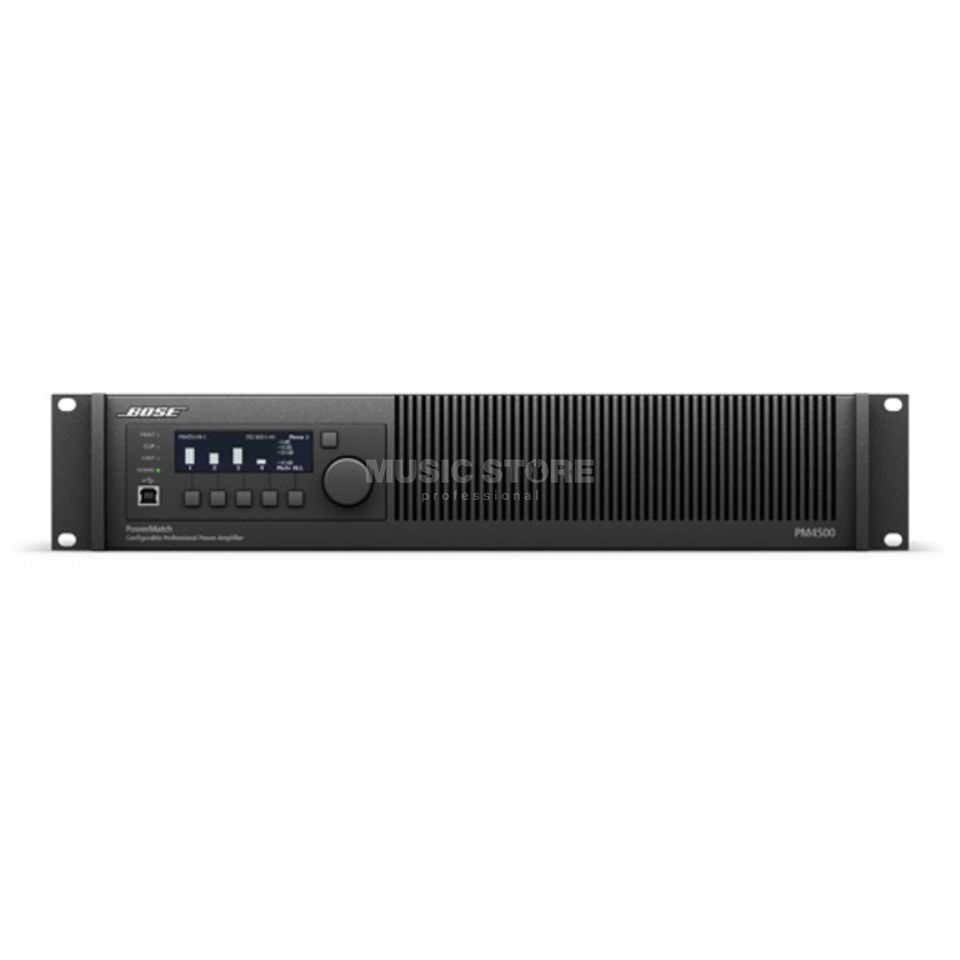 Bose PowerMatch PM4500 Amp config. Power Amp. 4Ch 2000W Produktbild