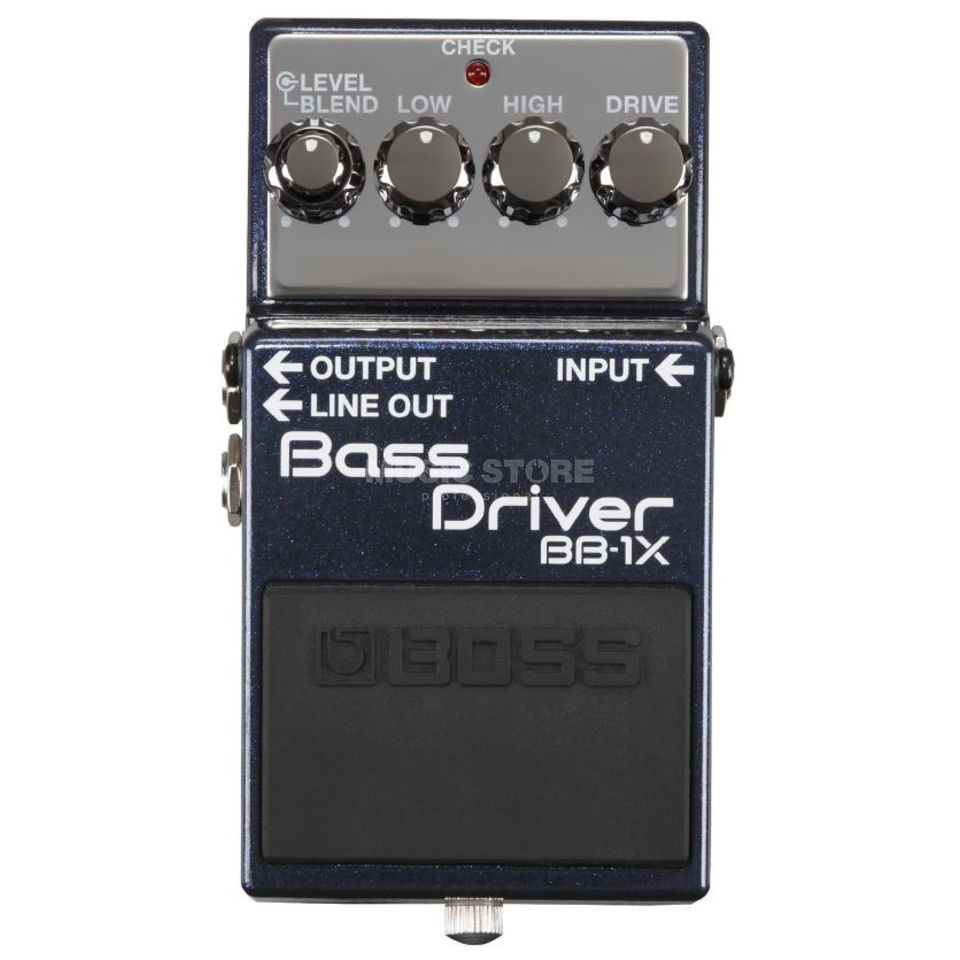 Boss BB-1X Pedal Pre-Amp, Overdrive, Equalizer Product Image
