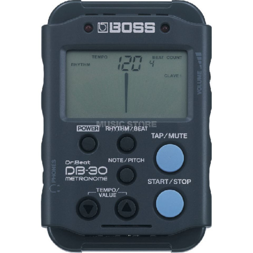 Boss DB-30 Digital Metronome mit Tuner, Timer, Stop Watch Produktbild