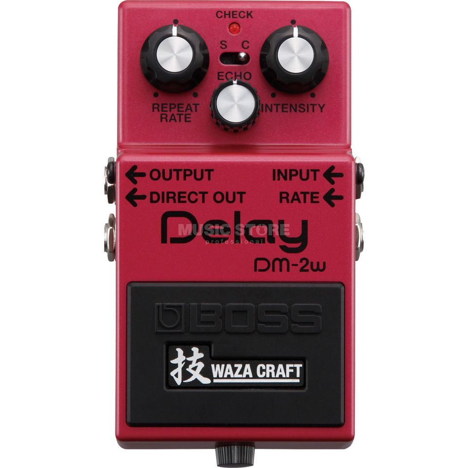 Boss DM-2w Delay Waza Craft Special Edition Produktbillede