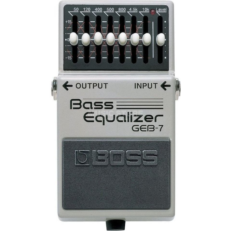 Boss GEB-7 bas Graphic EQ pedaal  Productafbeelding