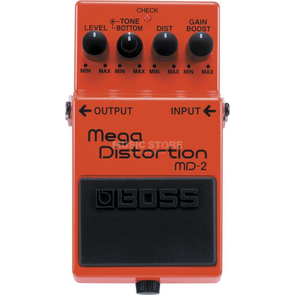 Boss MD-2 Mega Distortion Pedal    Produktbillede