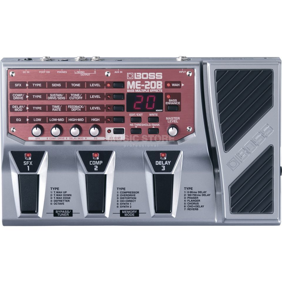 Boss ME-20B Bass MultiFX Processor  Produktbillede