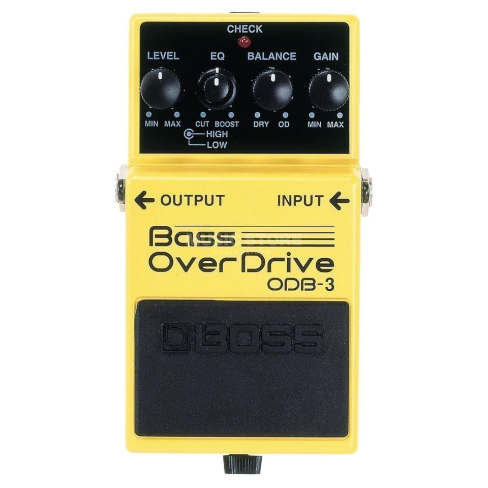 Boss ODB-3 bas Overdrive pedaal  Productafbeelding