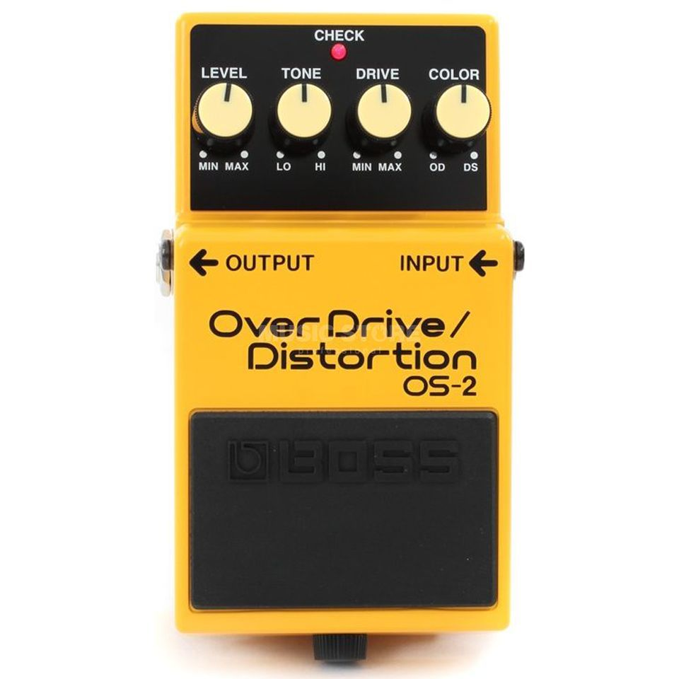 Boss OS-2 Overdrive Distortion Peda l   Produktbillede