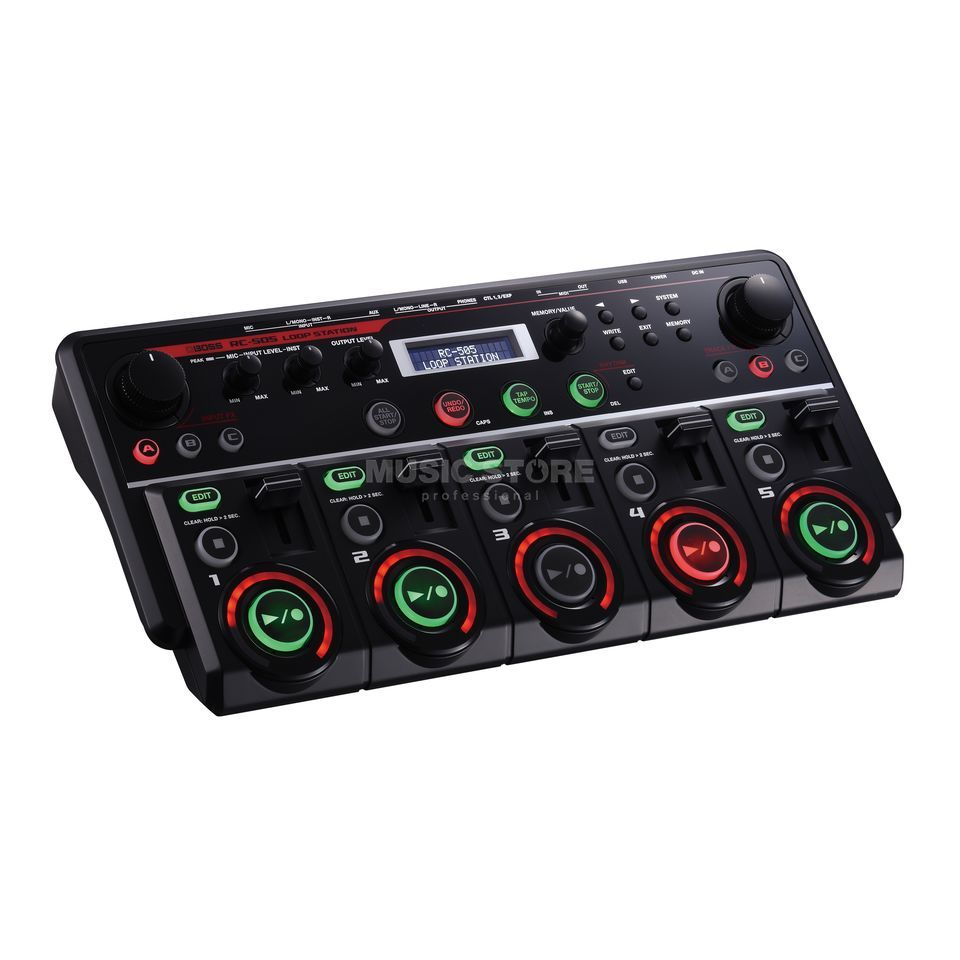 Boss RC-505 Tabletop Loop Station    Produktbillede