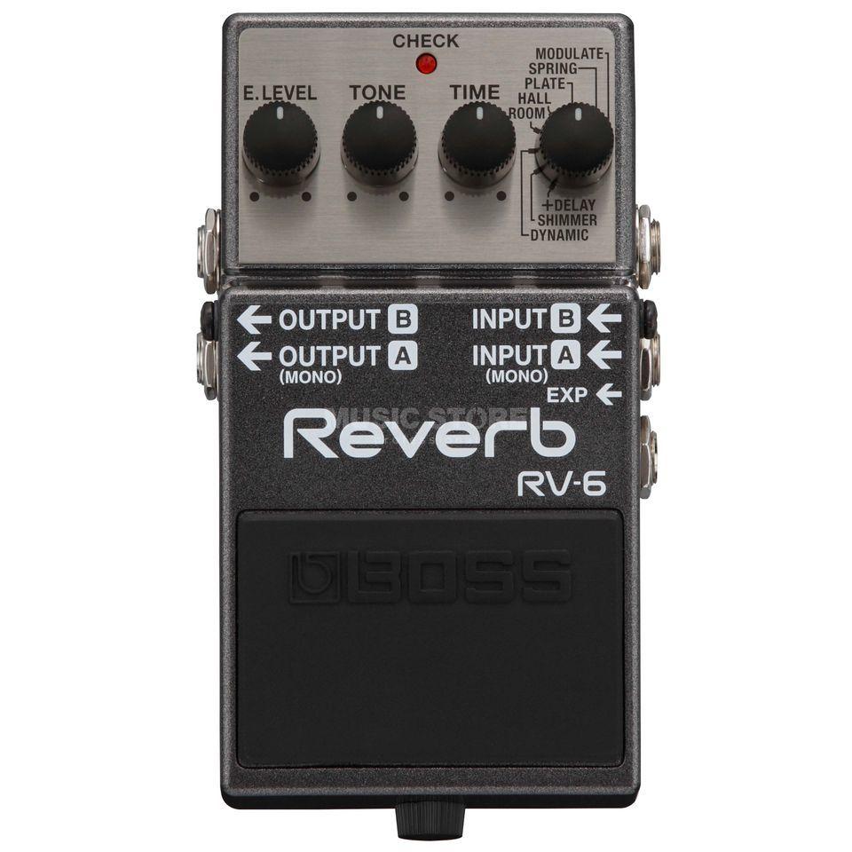 Boss Rv 6 Reverb Music Store Professional
