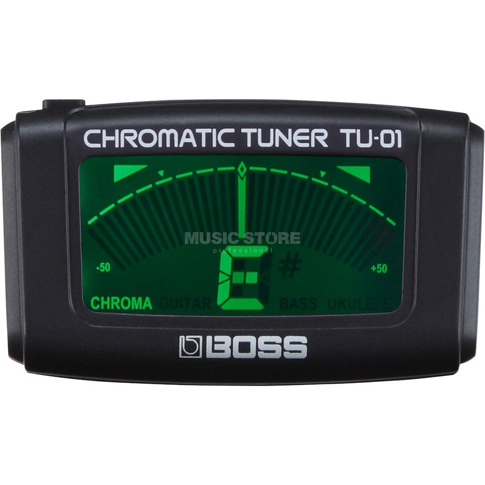 Boss TU-01 Clip-Tuner Product Image