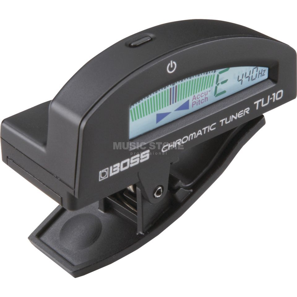 Boss TU-10 Clip-on Chromatic Tuner,  Black   Produktbillede