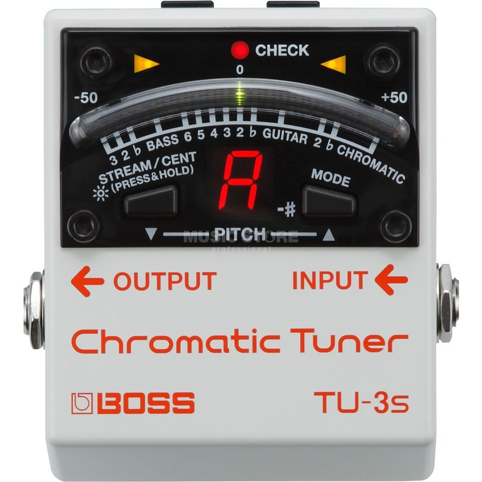 Boss TU-3S Chromatic Tuner Изображение товара