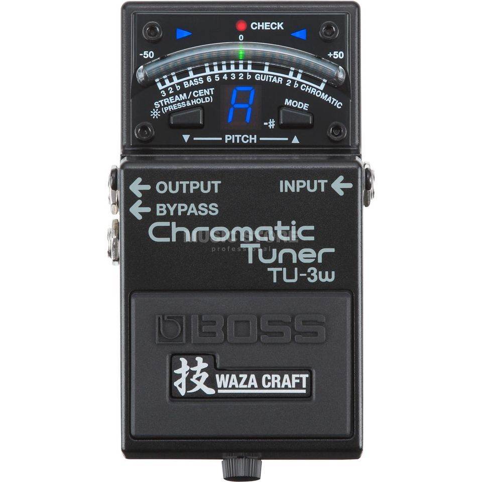 Boss TU-3W Waza Craft Pedal Tuner Product Image