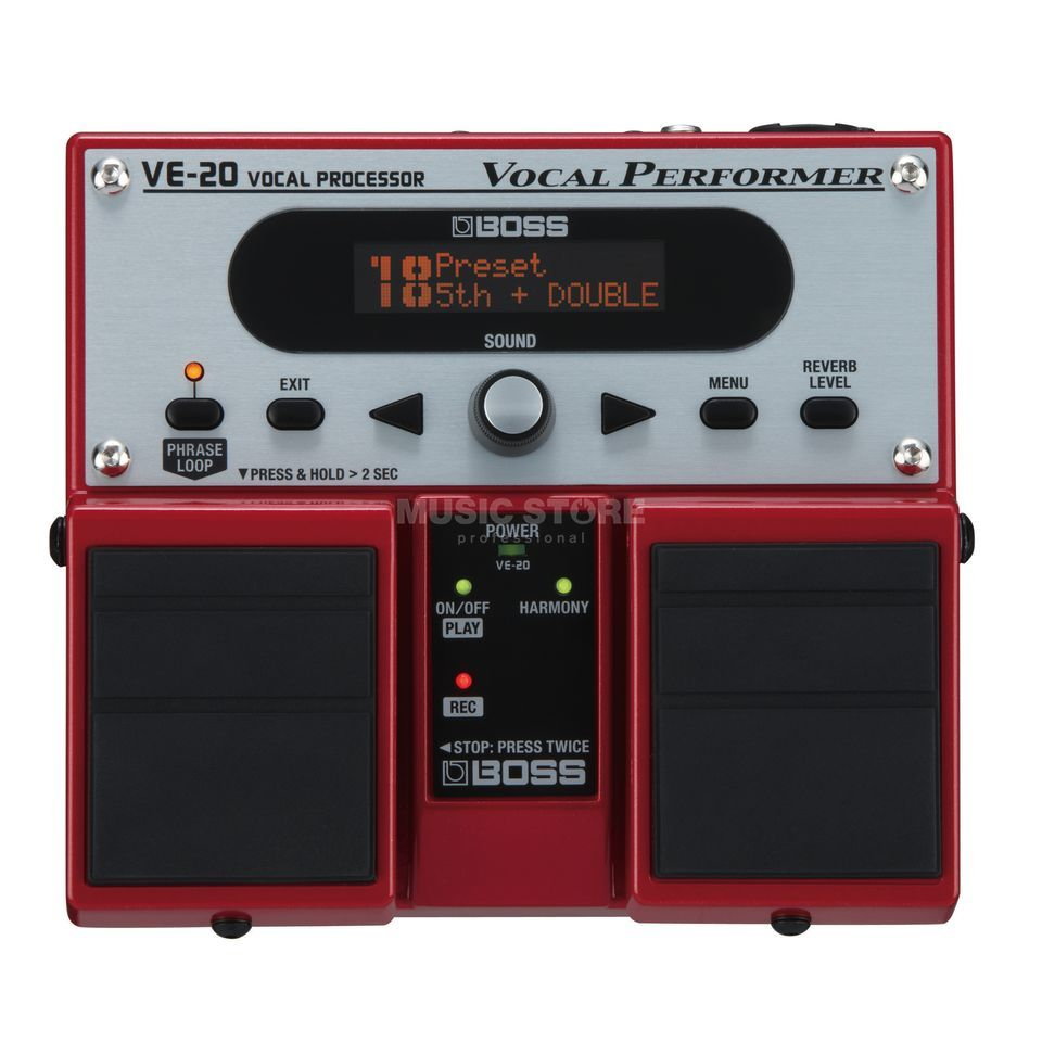 Boss VE-20 Vocal Performer    Produktbillede