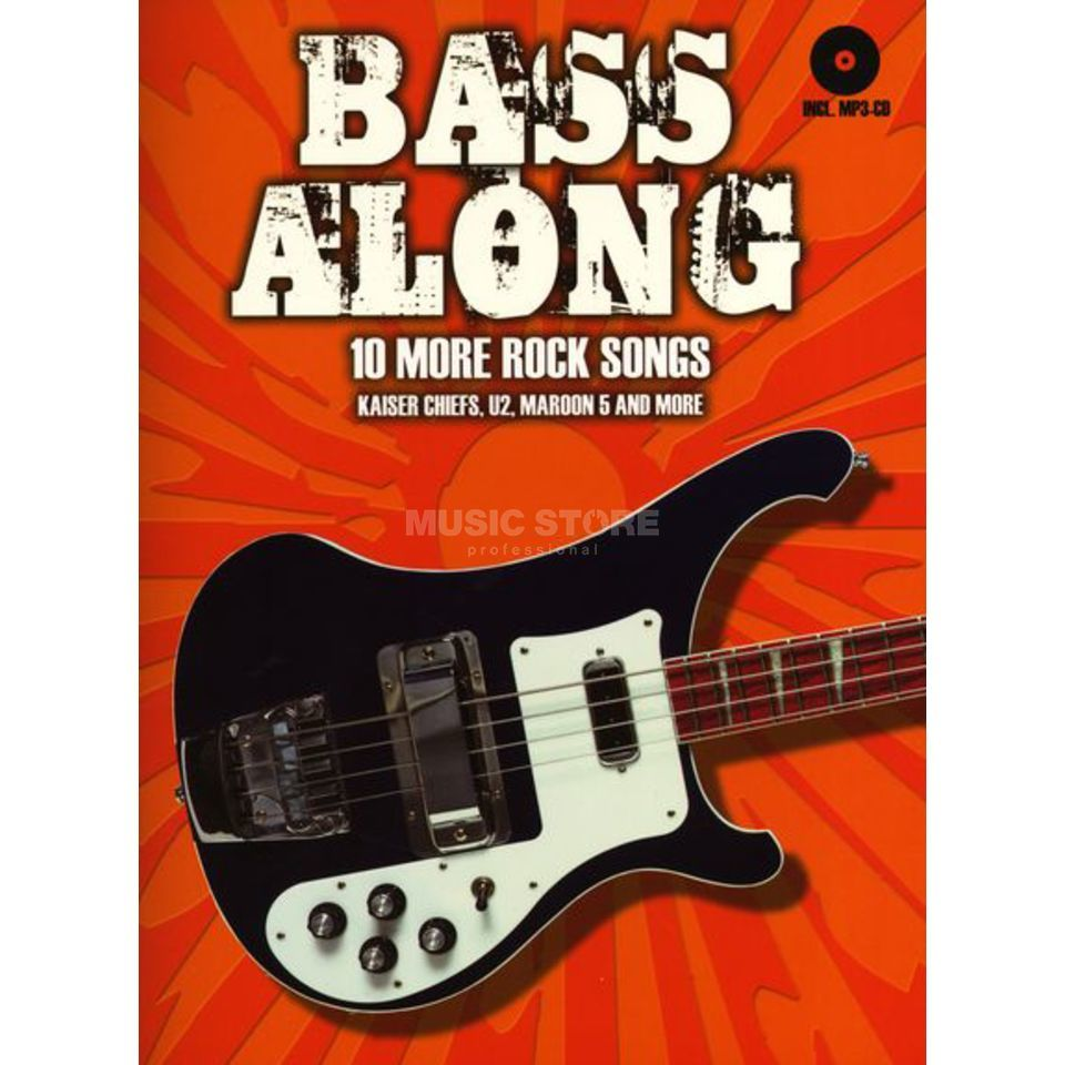 Bosworth Music 10 More Rock Songs Bass Play-Along (TAB) Produktbild