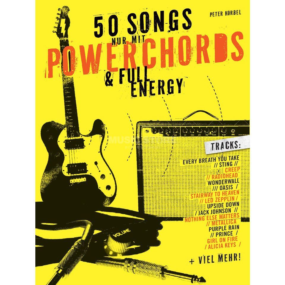 Bosworth Music 50 Songs nur mit Powerchords & Full Energy Image du produit