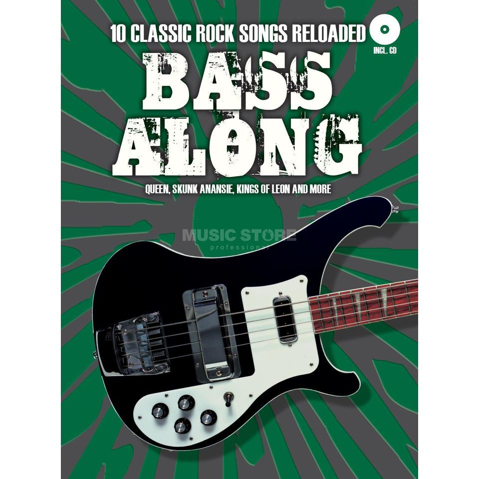 Bosworth Music Bass Along: 10 Classic Rock Songs Reloaded Produktbild