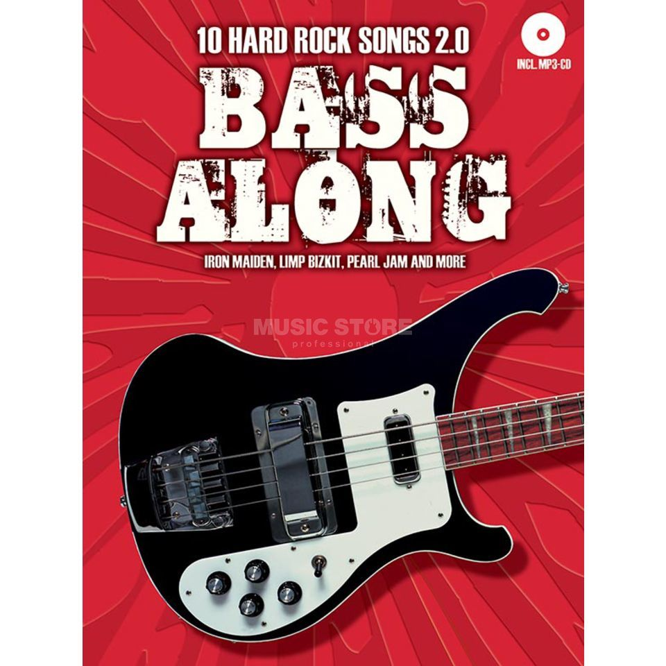Bosworth Music Bass Along: 10 Hard Rock Songs 2.0 Produktbillede