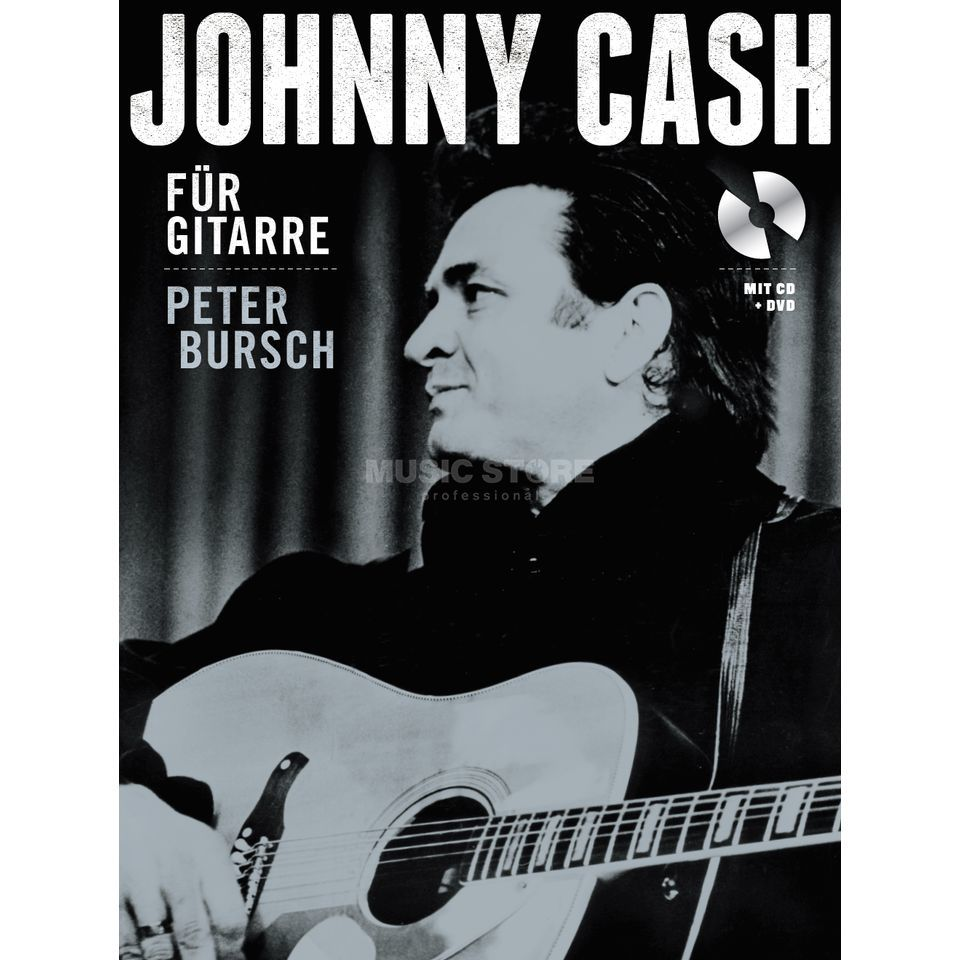 Bosworth Music Bursch: Johnny Cash Peter Bursch, Buch/CD/DVD Produktbillede