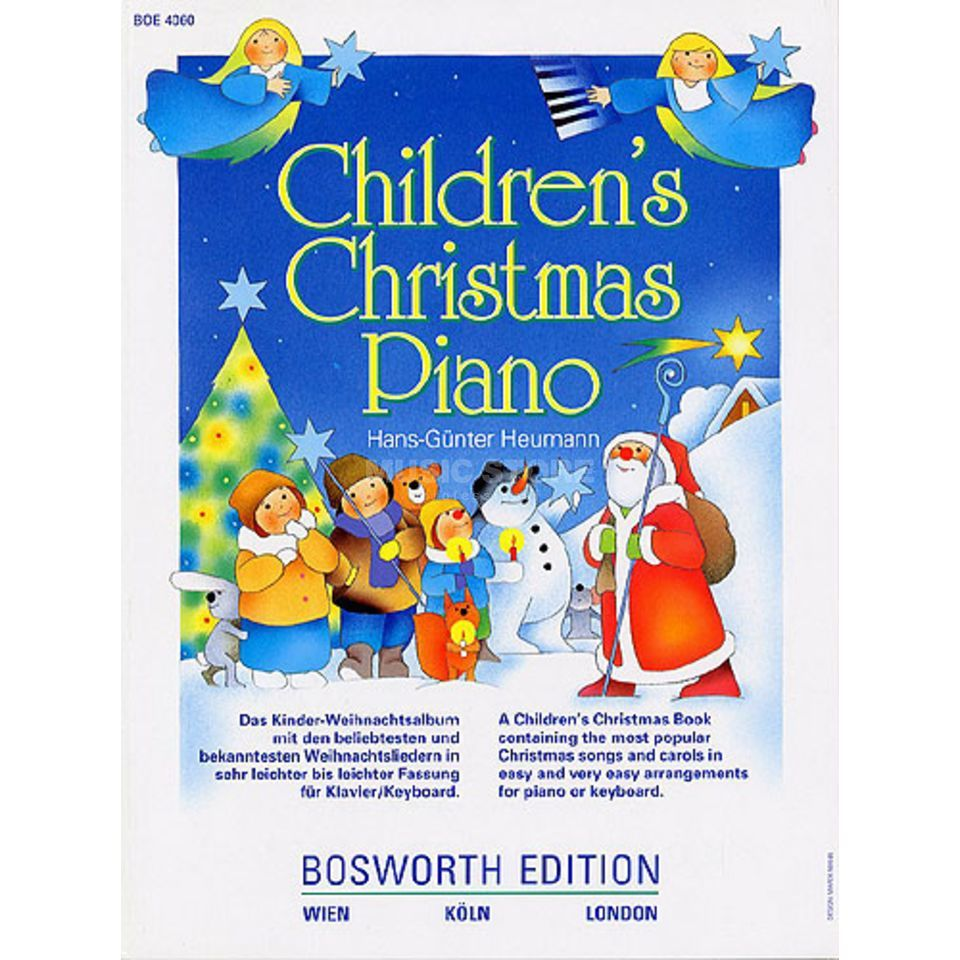 Bosworth Music Children's Christmas Piano Produktbild