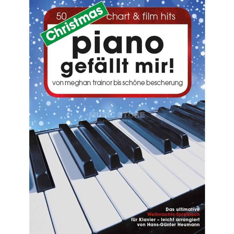Bosworth Music Christmas Piano gefällt mir! 50 Chart & Film Hits Produktbild