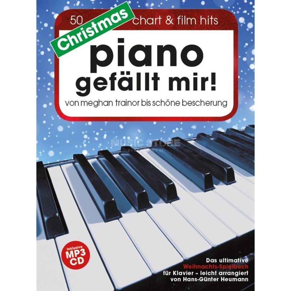 Bosworth Music Christmas Piano gefällt mir! 50 Chart & Film Hits Produktbillede